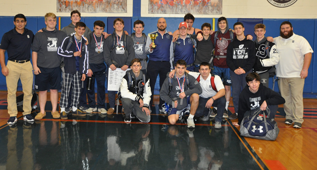 Wreckers Place Second at Danbury!